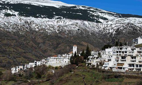 Capoeira Town Against the Mountains