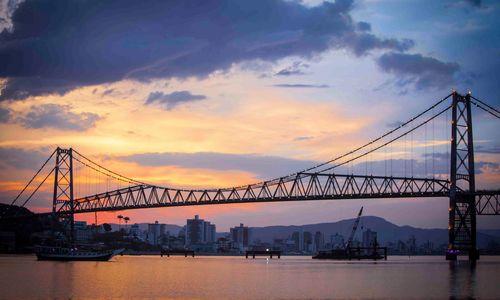Bridge of Florianopolis
