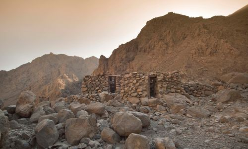 An Abandoned House in Musandam