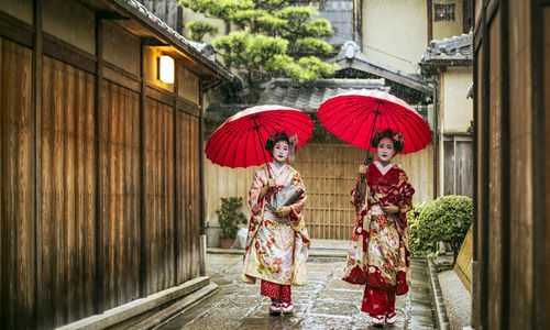Geishas in Gion