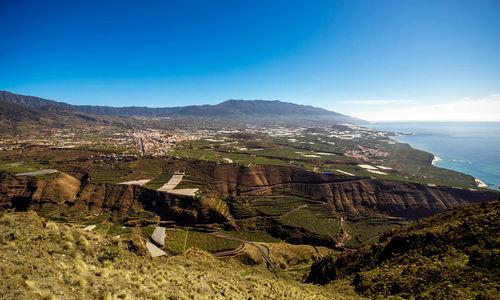 Aerial view of Los Llanos