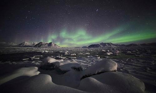 Svalbard Aurora Borealis