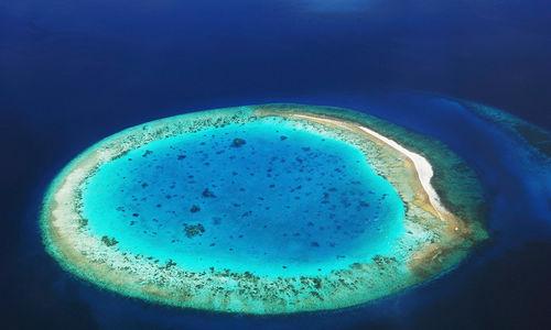 Maldives desert island