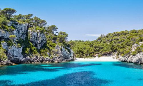 Beach in Menorca