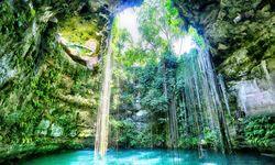 Cenote in Yucatan, Mexico