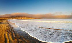 Blue skies at the Skeleton Coast