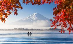 Mount Fuji in Autumn