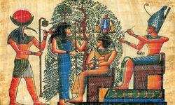 Papyrus Egyptian Gods