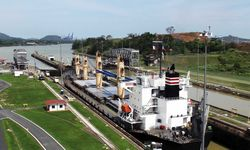 Canal Lock in Panama