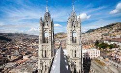 Sunshine over the Basilica in Quito
