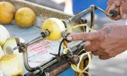 Lemon Peeling in Peru