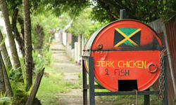 Jerk chicken, Jamaica