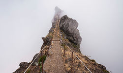 Road to nowhere, hiking in Madeira