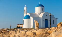 White chapel, Protaras, Cyprus