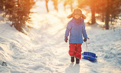 Family holiday in Finnish Lapland
