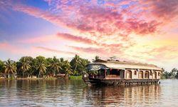 Houseboat under sunlight