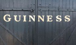 The facade of a Guinness storehouse