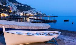 Boat on the Amalfi coast