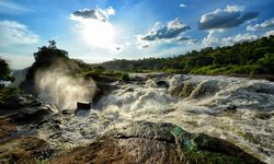 Murchison Falls on a sunny day