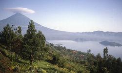 Lake in Rwanda
