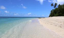 Beautiful beach in Fiji