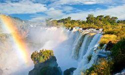 Iguacu Rainbow Waterfall