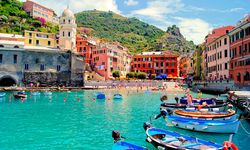 The Cinque Terre Harbour Vernazza