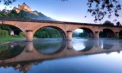Bridge beneath castle