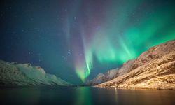 The Aurora Borealis over Northeren Norway