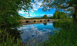 A Bridge over the Lake