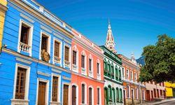 Colourful Facades of street