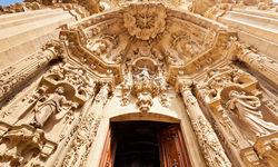 Carvings on Basilica Santa Maria