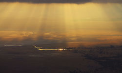 Selous Panoramic Sunset