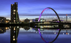 A view of Glasgow's skyline