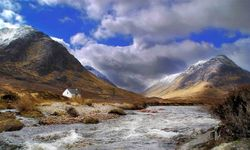 A view of Glencoe, scottish highlands