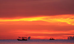Coastal Sunset - Cambodia