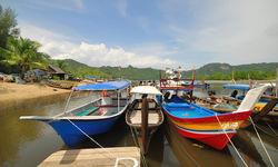 Fishing Boats on Langkawi