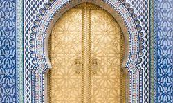 Fez Royal Palace gold doors