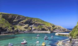 A view of Port Isaac, Cornwall