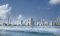 Cityscape of Cartagena