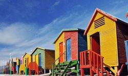 Cape Town beach huts