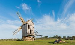 Saaremaa Windmill, Estonia