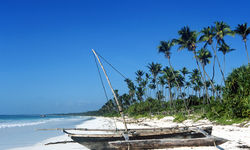 Tanzanian Coast Boat