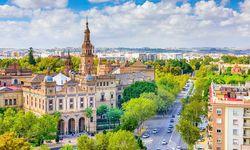 Seville skyline, Andalucia