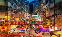 Fa Yuen Market at Night