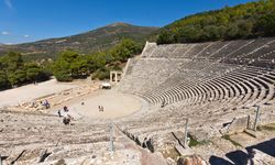 The Ruins of Epidavros Amphitheatre