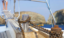 On-board a Boat in the Aegean Coast