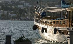 Large Boat on the Aegean Coast