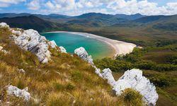 Beautiful beaches in Tasmania