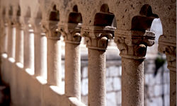 Dubrovnik palace detail
